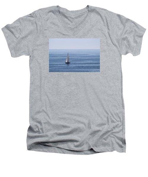 Maine Coast  Men's V-Neck T-Shirt