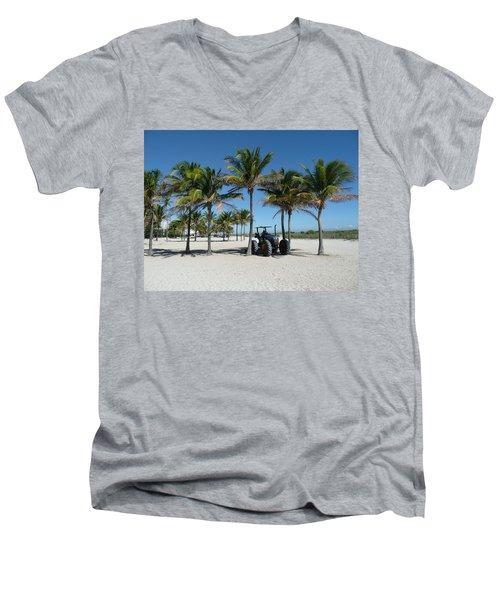 Sand Farm Men's V-Neck T-Shirt