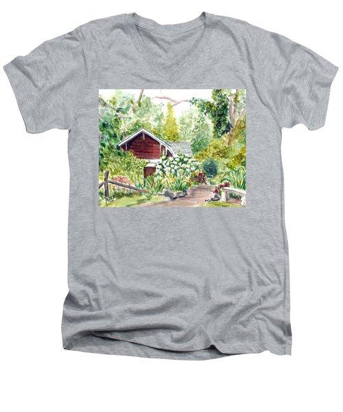 Sayen Woods Men's V-Neck T-Shirt