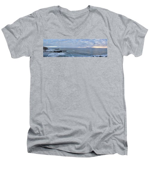 Seascape Men's V-Neck T-Shirt