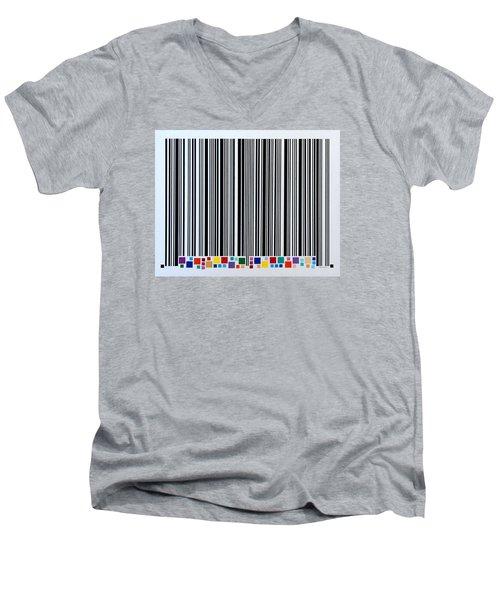 Sharing Men's V-Neck T-Shirt by Thomas Gronowski
