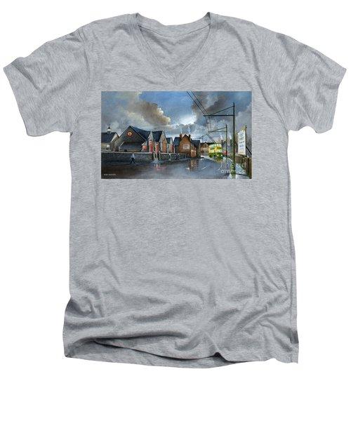 St. James School Men's V-Neck T-Shirt