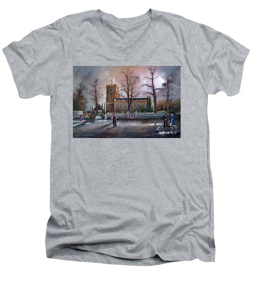 St Marys Church - Kingswinford Men's V-Neck T-Shirt