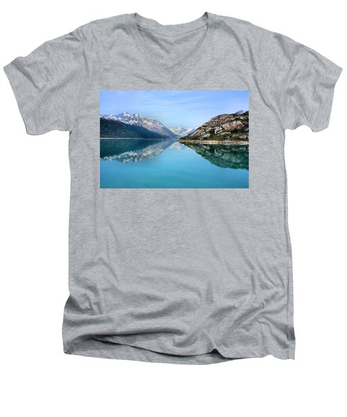 Men's V-Neck T-Shirt featuring the photograph Symmetry by Kristin Elmquist