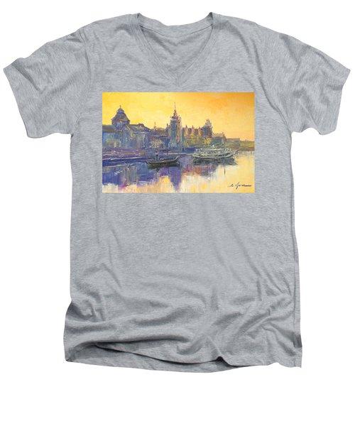 Szczecin - Poland Men's V-Neck T-Shirt