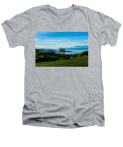 Tea Trees Men's V-Neck T-Shirt