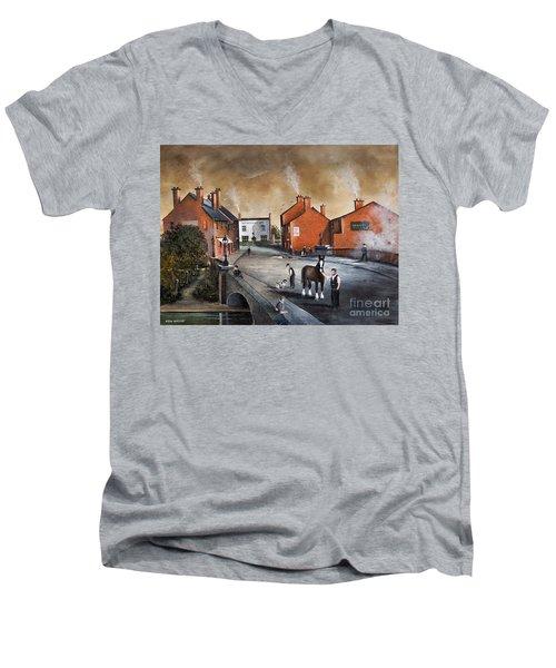 The Blackcountry Village Men's V-Neck T-Shirt