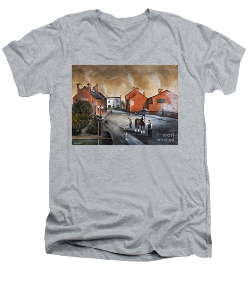 The Blackcountry Village Men's V-Neck T-Shirt