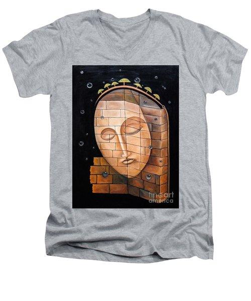 The Corner Men's V-Neck T-Shirt