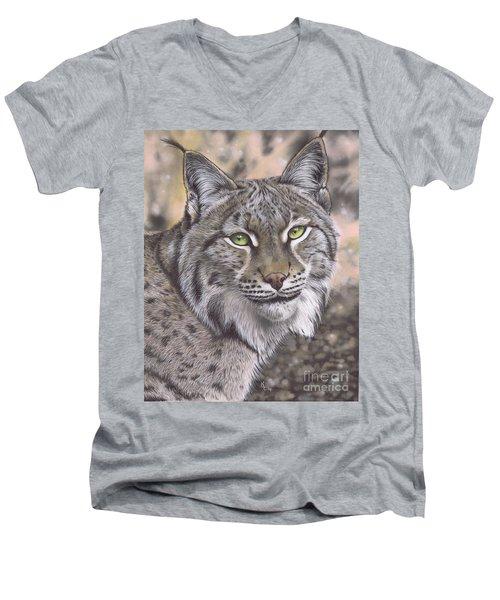 The Lynx Effect Men's V-Neck T-Shirt