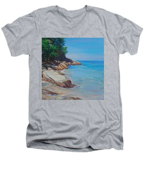 Treasure Beach Men's V-Neck T-Shirt