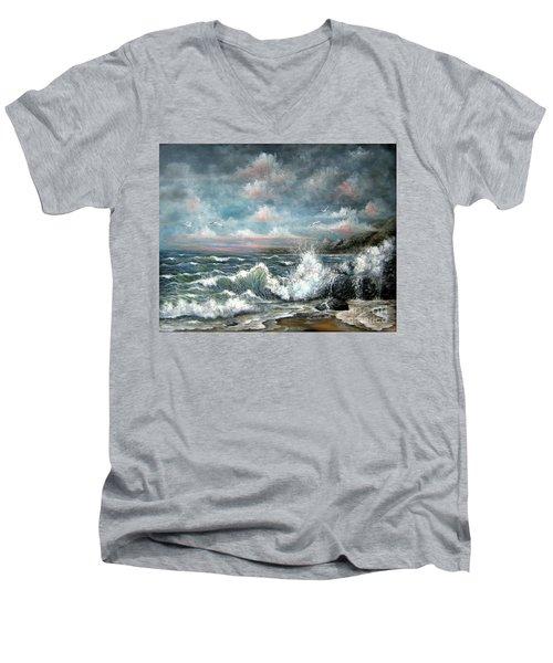 Turning Tide Men's V-Neck T-Shirt