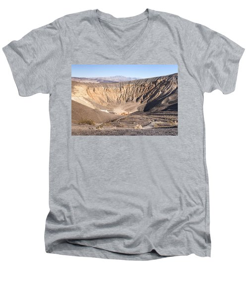 Ubehebe Crater Men's V-Neck T-Shirt