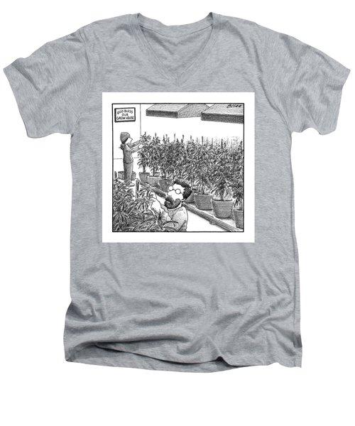 New Yorker November 21st, 2016 Men's V-Neck T-Shirt