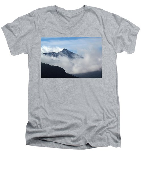 Up High Men's V-Neck T-Shirt