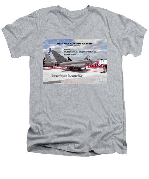 Wars And Rumours Of Wars Men's V-Neck T-Shirt