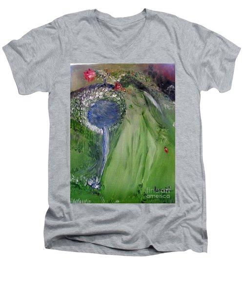 Water Girl Men's V-Neck T-Shirt