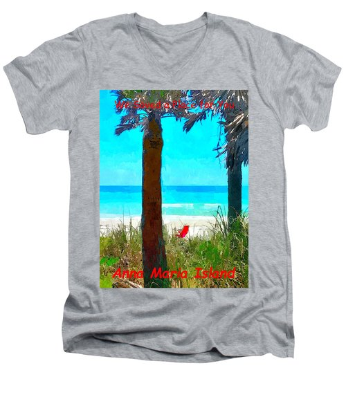 We Saved A Place For You Men's V-Neck T-Shirt