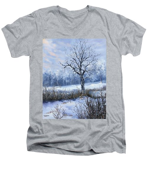 Winter Slumber Men's V-Neck T-Shirt