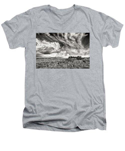 Written In The Wind Men's V-Neck T-Shirt
