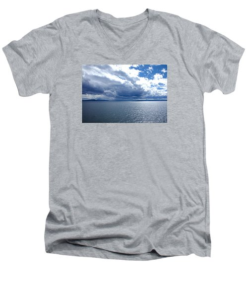 Yellowstone Lake Men's V-Neck T-Shirt