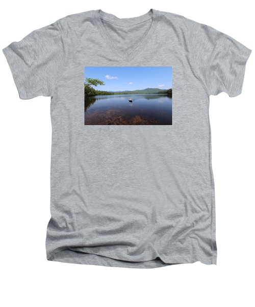 Chocorua Lake  Nh Men's V-Neck T-Shirt