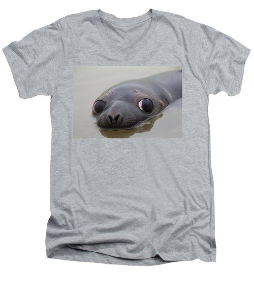110714p127 Men's V-Neck T-Shirt