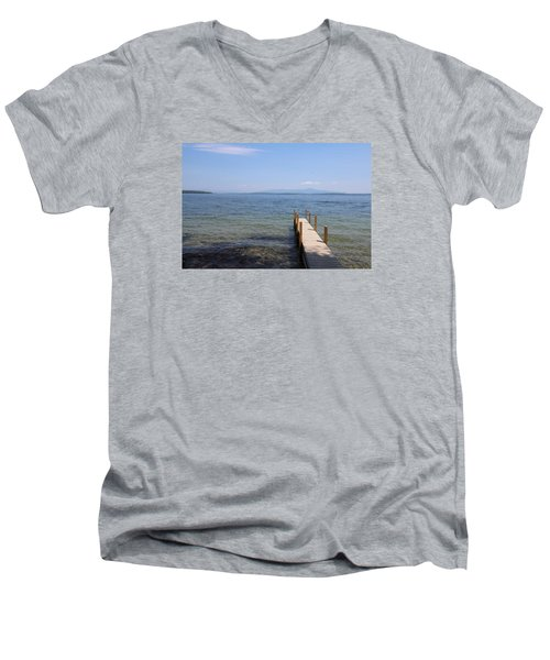 Lake Winnipesaukee Men's V-Neck T-Shirt