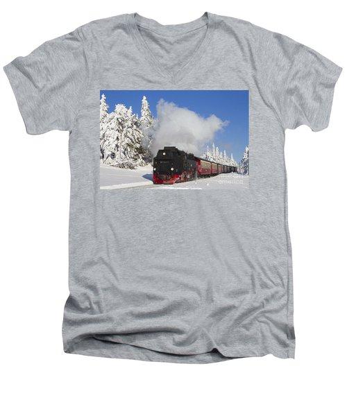 120820p335 Men's V-Neck T-Shirt