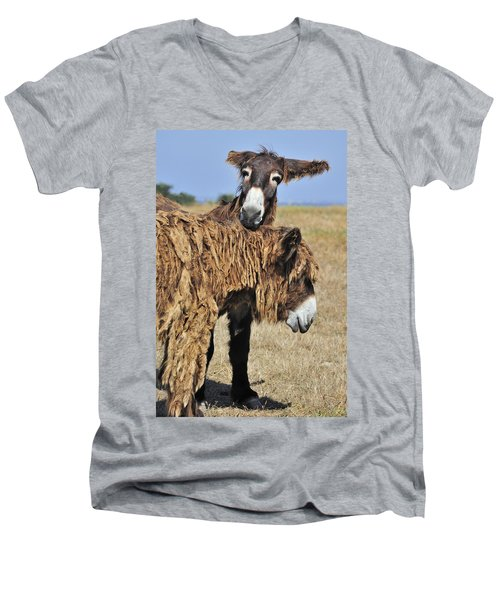 Men's V-Neck T-Shirt featuring the photograph 120920p028 by Arterra Picture Library
