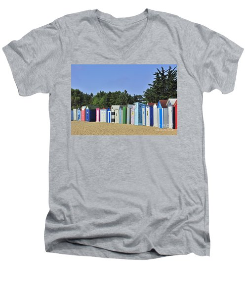 Men's V-Neck T-Shirt featuring the photograph 130109p082 by Arterra Picture Library