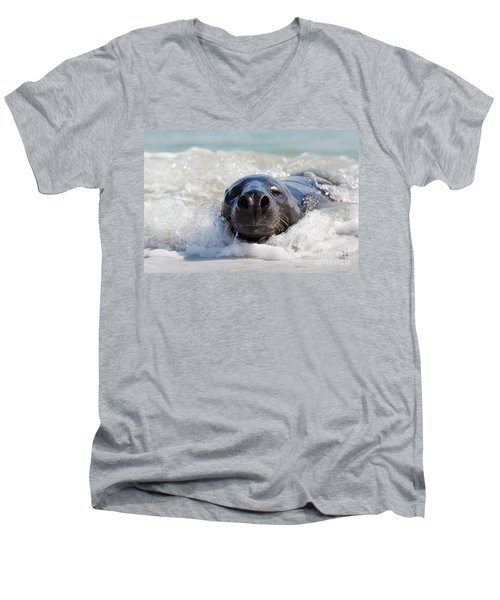 Men's V-Neck T-Shirt featuring the photograph 130201p142 by Arterra Picture Library