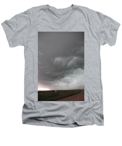 Nebraska Panhandle Supercells Men's V-Neck T-Shirt