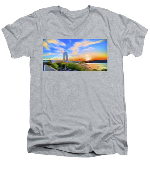 Sunset Dream Men's V-Neck T-Shirt