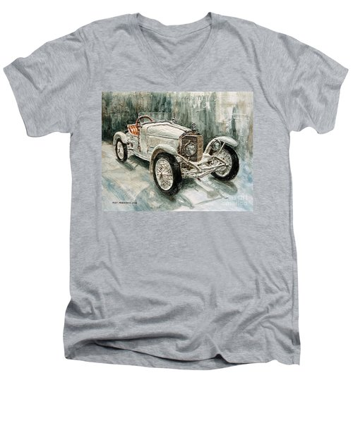 1923 Mercedes Ps Sport- Zweisitzer Men's V-Neck T-Shirt