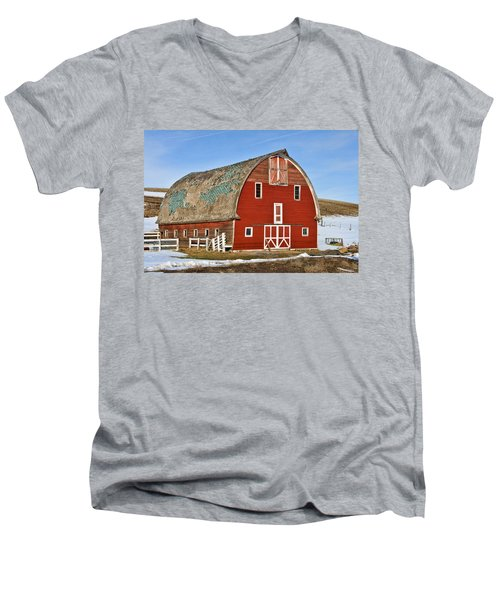 1927 Barn Men's V-Neck T-Shirt