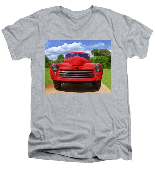 1947 Ford Men's V-Neck T-Shirt