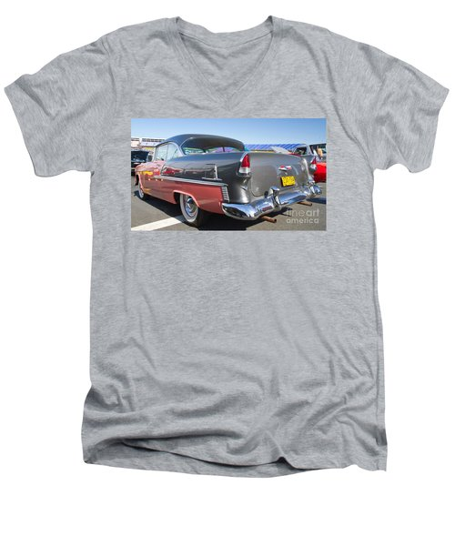 1955 Chevy Bel Air Men's V-Neck T-Shirt
