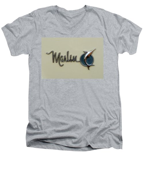 1965 Rambler Marlin Men's V-Neck T-Shirt