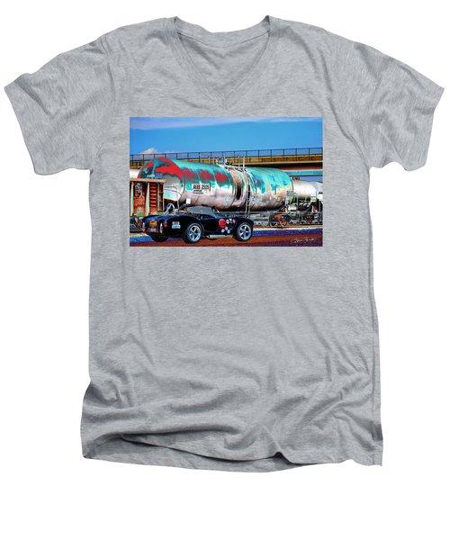 1965 Shelby Cobra II Men's V-Neck T-Shirt