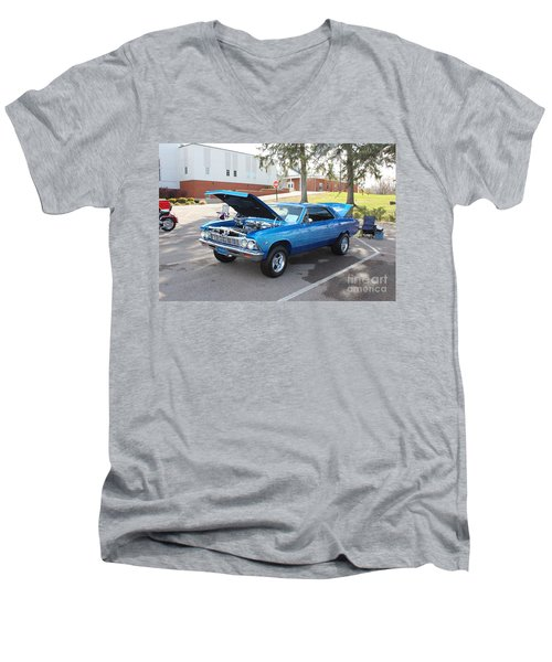 1966 Chevelle Super Sport Men's V-Neck T-Shirt