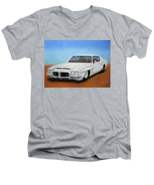 1972 Pontiac Gto Men's V-Neck T-Shirt