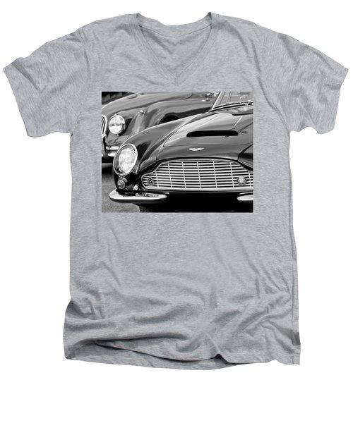 1965 Aston Martin Db6 Short Chassis Volante Men's V-Neck T-Shirt