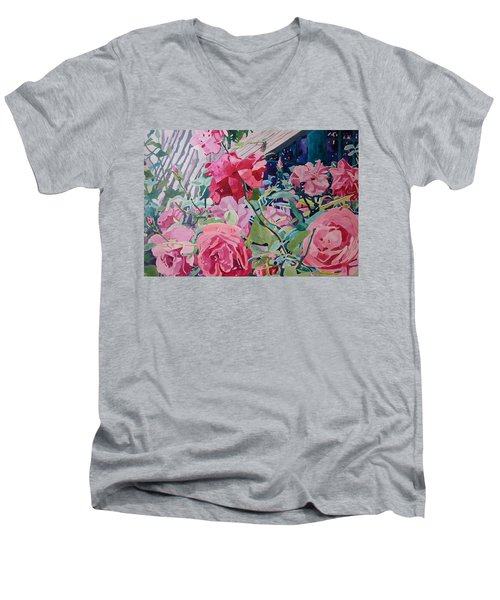 American Beauty Men's V-Neck T-Shirt