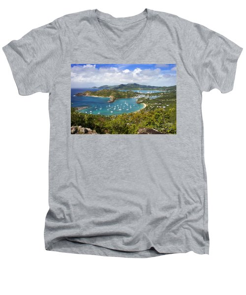 Antigua Men's V-Neck T-Shirt
