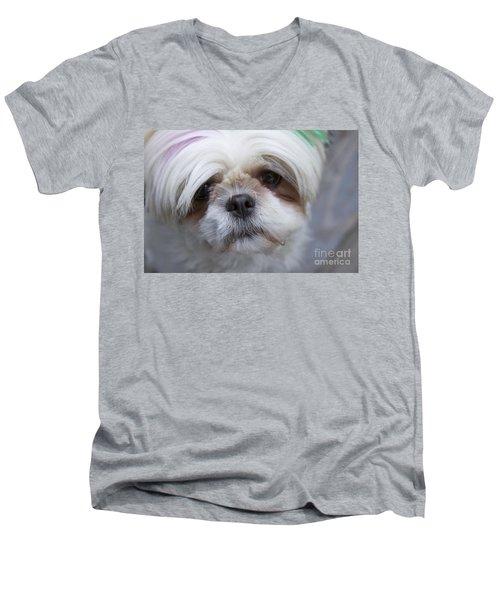 Atsuko Men's V-Neck T-Shirt