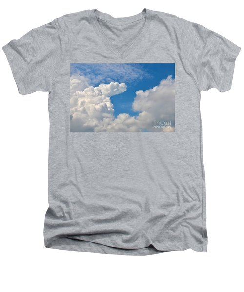 Clouds In The Sky Men's V-Neck T-Shirt