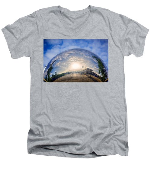 Distorted Reflection Men's V-Neck T-Shirt