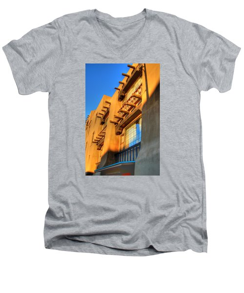 Downtown Santa Fe Men's V-Neck T-Shirt