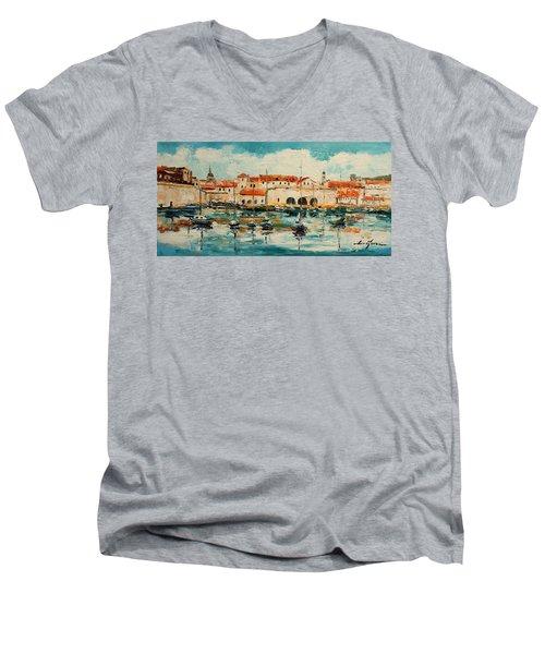 Dubrovnik - Croatia Men's V-Neck T-Shirt